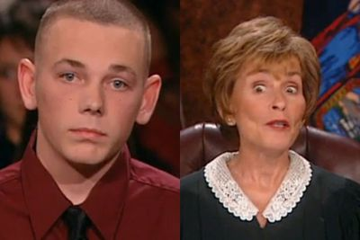 """<b>Judge Judy Perfect Put-down:</b> """"You better tell me the truth, because I'm <i>much</i> smarter than you are."""""""