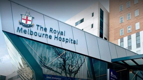 A coronavirus cluster is engulfing the Royal Melbourne Hospital with at least seven patients, staff and visitors testing positive.