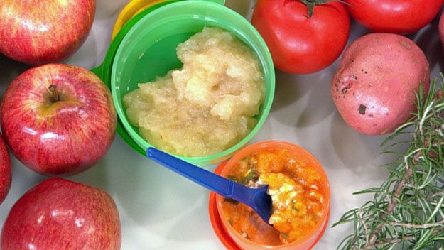 Recipes for babies & baby food