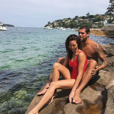 "<p>Newlyweds Jesinta and Lance ""Buddy"" Franklin enjoy Sydney sun a few weeks after their low-key Gold Coast honeymoon</p>"