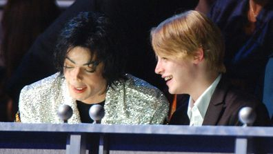 Michael Jackson and Macaulay Culkin.