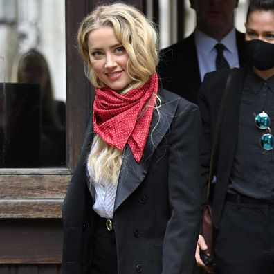 Amber Heard attends day 6 of Johnny Depp's libel case against The Sun Newspaper.