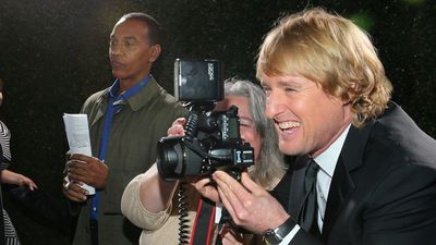 January 12, 2014: Owen Wilson gets on the other side of the camera at the 72nd Annual Golden Globe Awards at The Beverly Hilton. <br><br> Photo by Mark Davis, Getty Images for Fox Searchlight Pictures.