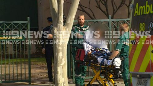 A girl has since been charged with aggravated assault and threats offences. Picture: 9NEWS