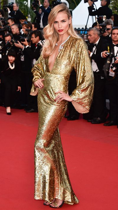 <p>Natasha Poly in Michael Kors</p>