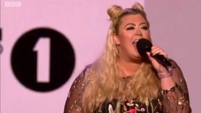 The Only Way Is Essex star Gemma Collins falls through hole on awards stage: 'Worst moment'