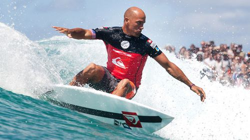Kelly Slater in Florida last month. (AAP)