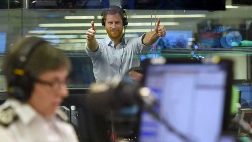 Prince Harry guested edited a spot on a BBC Radio 4 program. (Jeff Overs /BBC/PA)