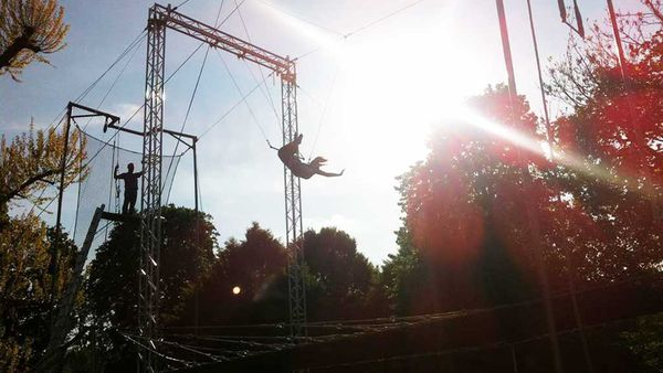 Gorilla Circus Flying Trapeze School in London