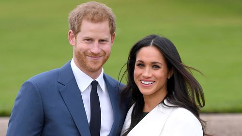 The pair will marry in May. (PA/AAP)