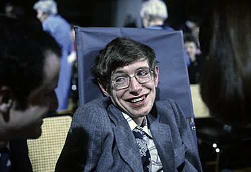A book of condolences remains open at Gonville and Caius College. Stephen Hawking in 1979 (Getty)