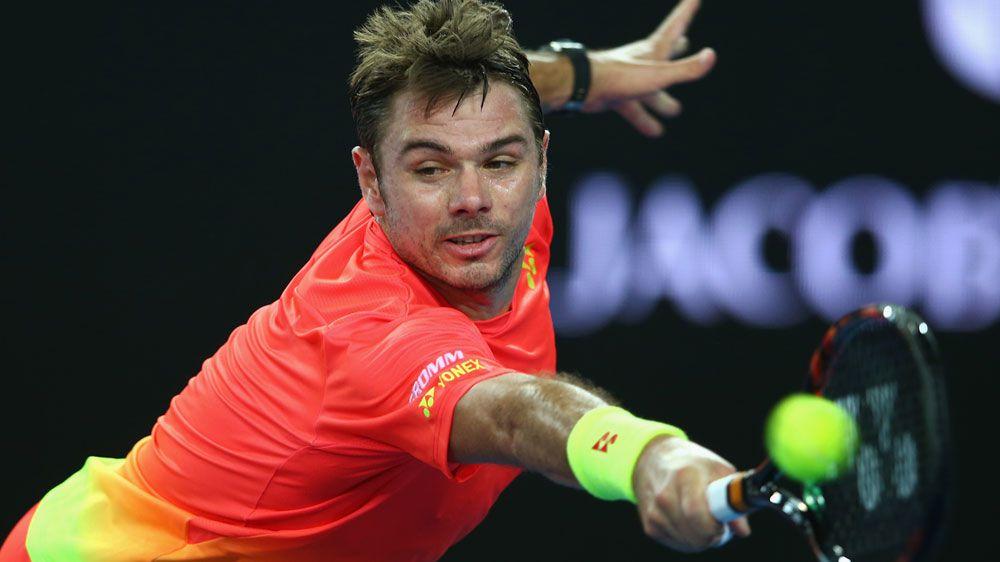 Stan Wawrinka into Aust Open 2nd round