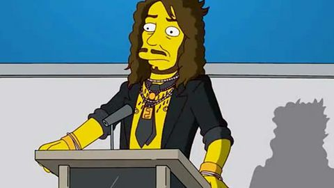 Russell Brand is offended The Simpsons gave him nipple rings