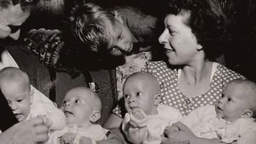 Betty Sara first hit international headlines when she became the first Australian woman to successfully gave birth to quadruplets.