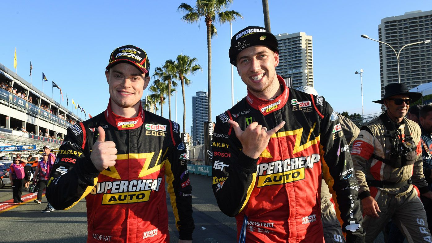 Ford driver James Moffat Supercars clash turns physical