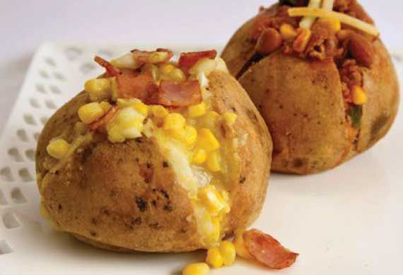 Annette Sym's stuffed potatoes