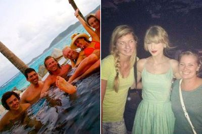 """But the love affair had to end, like Taylor's 'Love Story' without the happy ending. In the first week of 2013, Taylor left her tropical holiday with Harry in the British Virgin Islands two days early, reportedly after they had an """"almighty row"""", according to MailOnline. Harry partied it up with bikini babes in a hot tub as Taylor headed back to LA looking forlorn. The perils of young love ... maybe Taylor can channel that into her next no.1 hit?"""