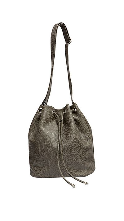 <p>The bucket bag</p>