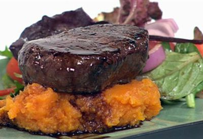 Low-GI sweet potato mash