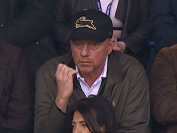 Tennis legend Boris Becker. (Supplied).