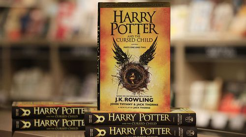 The 'Cursed Child' Script was released as a book which sold more than two million copies in its first 48 hours in the UK. (AAP)