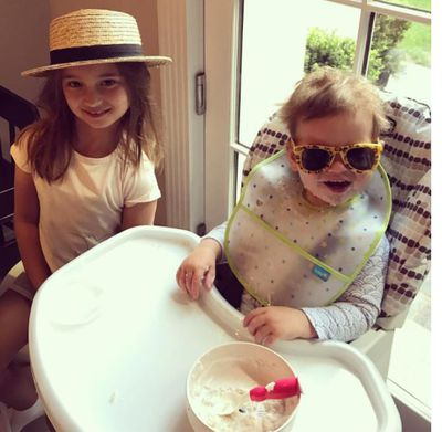 There were long, lazy breakfasts that included all the fun stuff - think laughter, mess and cool sunnies.