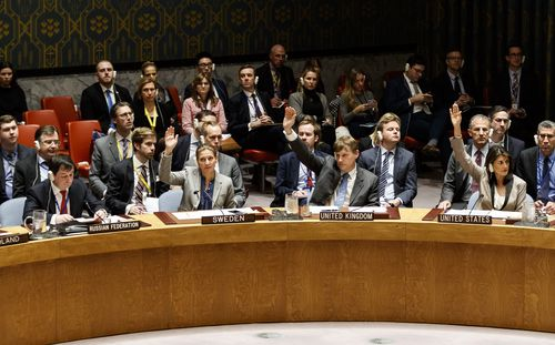 "A UN Security Council meeting was held over the ""unlawful conduct' in the Black Sea between Ukraine and Russia."