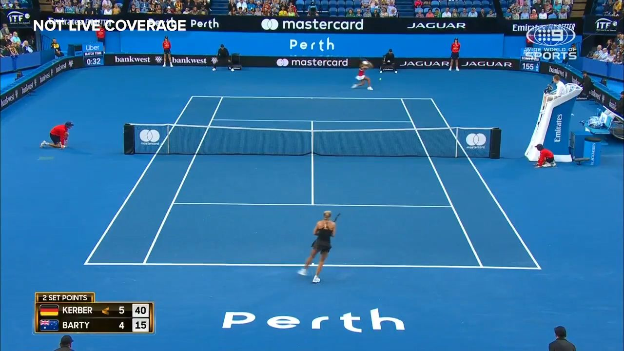 Hopman Cup 2019 day seven rolling coverage Australia on verge of elimination Kerber downs Barty