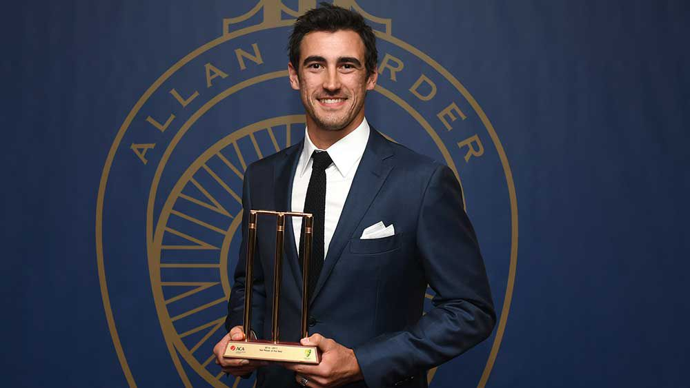 Starc crowned Aussie's best in Tests
