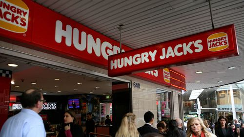 SDA National Secretary Gerard Dwyer said the treatment of fast food workers by the public was appalling. A stock image of Hungry Jacks. Fast food outlets were not named in the survey.