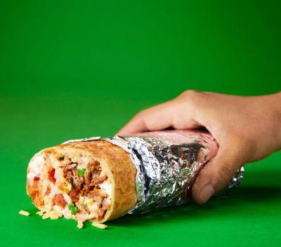Zambrero burrito