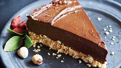 "<a href=""http://kitchen.nine.com.au/2016/05/05/12/44/tess-masters-glutenfree-raw-chocolateorange-torte"" target=""_top"">Tess Masters' gluten-free raw chocolate-orange torte</a> recipe - vegan, gluten free, dairy free, egg free, vegetarian"