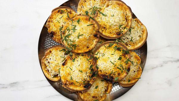 Pie maker bolognese bites recipe