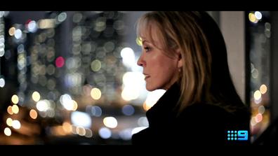 Rebecca Gibney as Jane Halifax in Halifax Retribution.