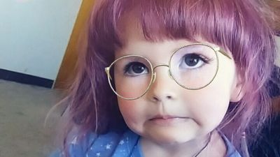'I let my two-year-old dye her hair'