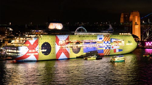 The Pacific Pearl cruise ship will form part of P&O Cruises' celebrations. (AAP)
