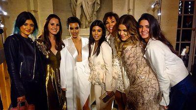 The ladies of Kardashian family (Instagram).