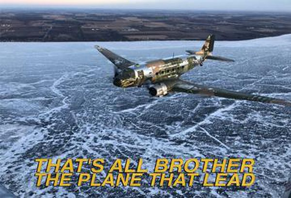 That's All Brother: Plane That Led D-Day