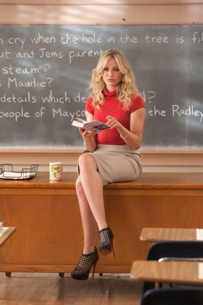 Cameron Diaz stars in the 2011 movie Bad Teacher.