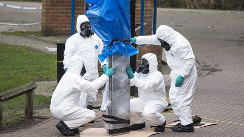 The pair were poisoned by nerve agent Novichok in Salisbury. (AAP)