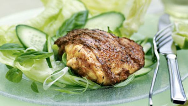 Thai grilled chicken salad