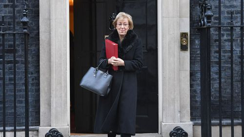 """""""We can get the legislation through and I think we do, in spite of everything, have a very strong relationship with our EU friends and neighbours and I am absolutely certain that if we needed a couple of extra weeks or something then that would be feasible,"""" Andrea Leadsom told the BBC."""