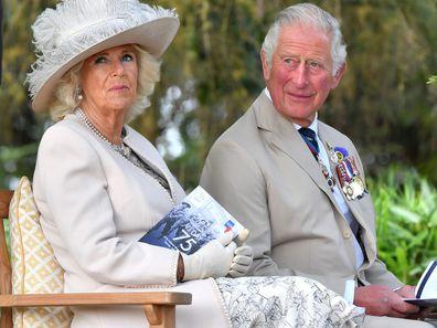 Camilla, Duchess of Cornwall and Prince Charles, 2020