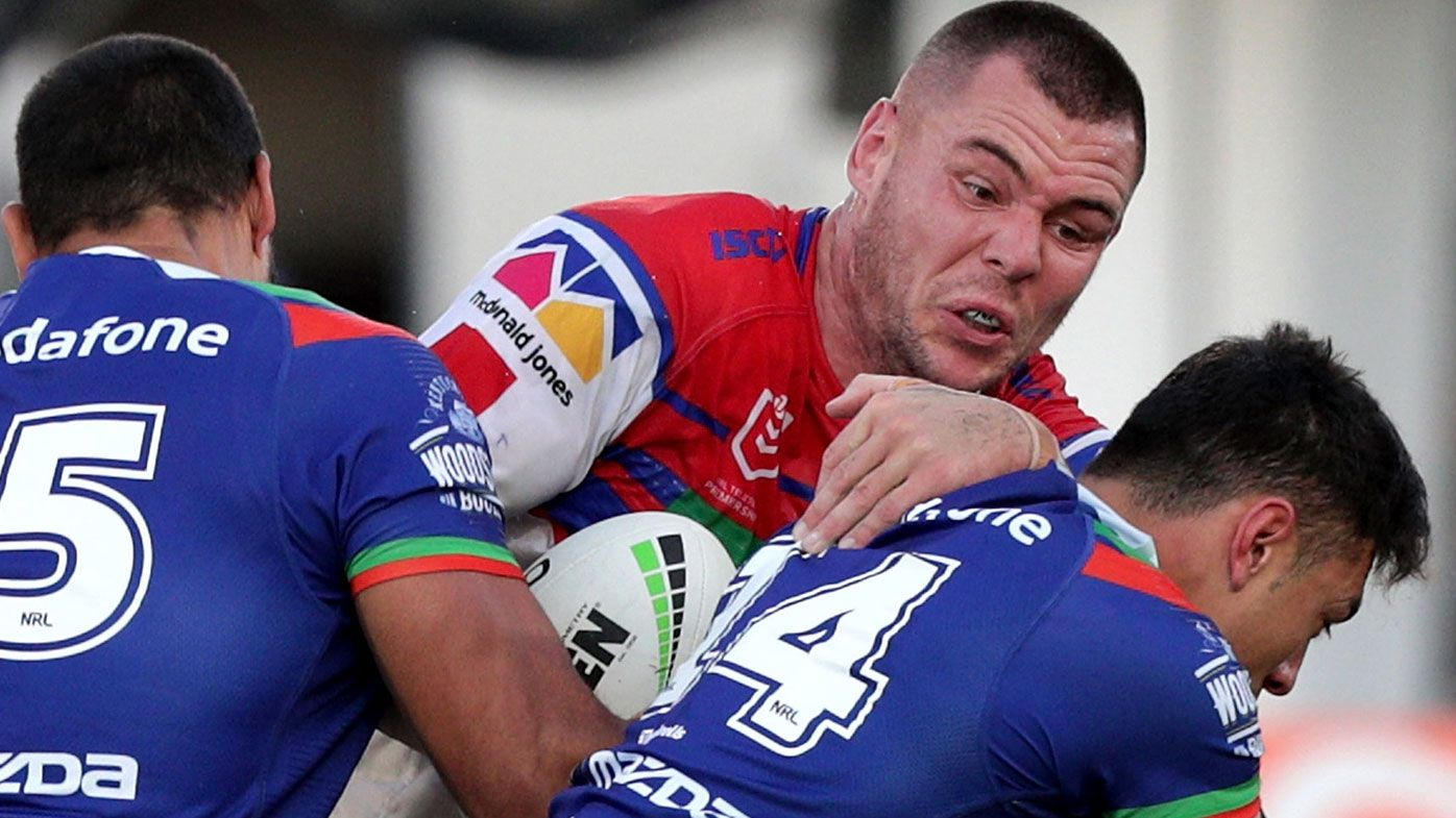 Newcastle prop David Klemmer compared to Knights great Paul Harragon after huge game