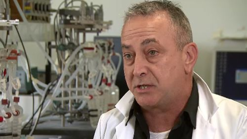 Dr Sab Ventura from Melbourne's Monash University spoke to 9NEWS about the medical breakthrough. (9NEWS)