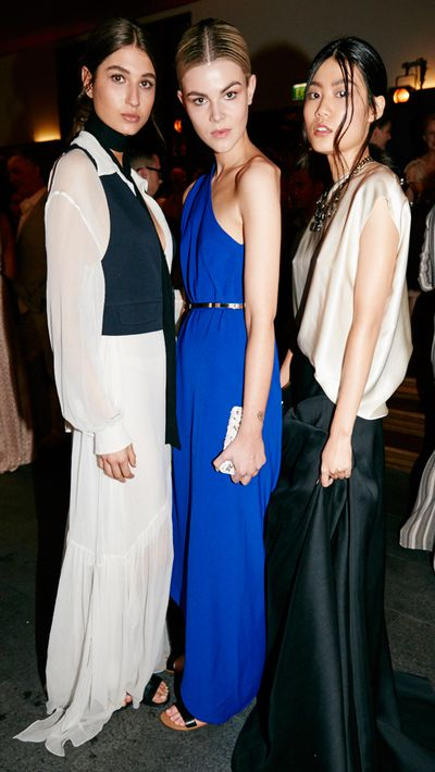 <p>Models in pieces from Net-A-Porter designers' resort collections.</p>
