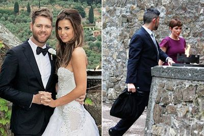 Brian McFadden married model Vogue Williams in September. Dannii Minogue was among the star-studded guest list, and Kyle Sandilands was the best man!