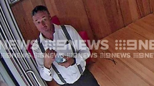 The thief is now on the run, with police urging anyone with information to come forward. (9NEWS)