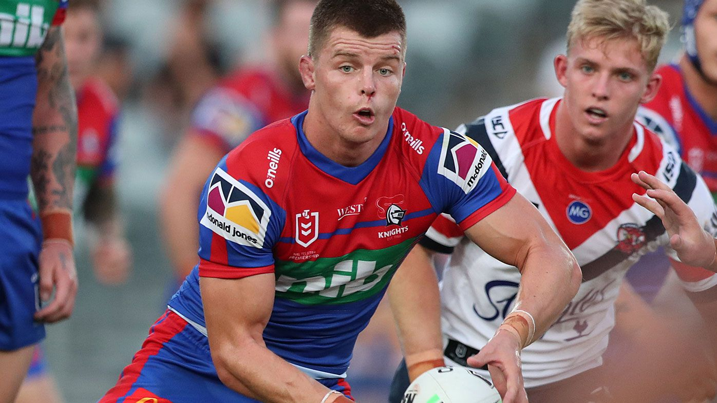 Newcastle Knights star Jayden Brailey suffers ACL injury