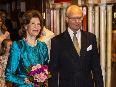 King Carl XVI Gustaf and Queen Silvia of Sweden, 45 years